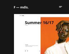 """다음 @Behance 프로젝트 확인: """"F — mdls."""" https://www.behance.net/gallery/47490321/F-mdls"""