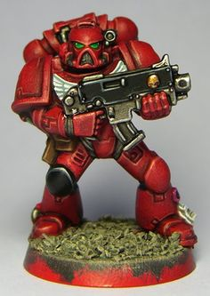 Tutorial: How to paint Blood Angels - Tale of Painters