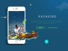 # Daily UI- Kayaking