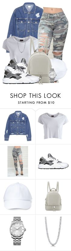 """""""Untitled #591"""" by b-elkstone ❤ liked on Polyvore featuring Steve J & Yoni P, Pieces, NIKE, Forever 21, MICHAEL Michael Kors, Calvin Klein and BERRICLE"""