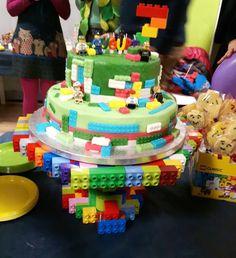 Lego cake (Andrea's 7th Bday)