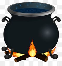 illustration of a witch s cauldron halloween clipart halloween rh pinterest com