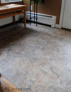 Did You Know That Can Grout L And Stick Vinyl Tiles To Look
