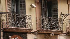balcony Cast Iron, Balcony, Gate, Barcelona, Photo Illustration, Terrace, Balconies, Gates, Outdoor Balcony