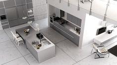 Diseño de Vanguardia y Funcional con Cocinas Rekker