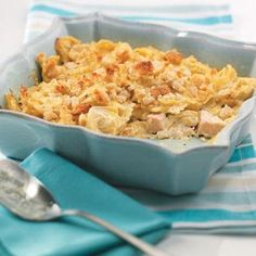 Artichoke and Chicken Casserole Recipe- it's what's for dinner! Going to add fresh spinach and serve with garlic bread sticks.