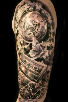 Tattoo Artist - Ellen Westholm - time tattoo