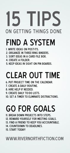 ... writer resource: fifteen tips to help you get things done this spring Thing 1, Time Management Tips, Study Motivation, College Motivation, Life Organization, Self Development, Getting Things Done, Getting Organized, Self Improvement