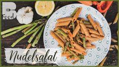 NUDELSALAT Rezept - gesunder und eiweißhaltiger Salat - Klassiker - YouTube