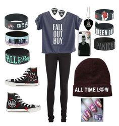"""""""Band Obsessed"""" by alphaalex ❤ liked on Polyvore featuring Acne Studios and Converse"""