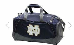 cfb006c618 Under Armour Navy Notre Dame Fighting Irish Undeniable Duffle Bag