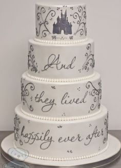 Live happily ever after with this classic cake.