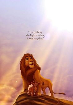 The lion king film. disney movie quotes, lion king quotes un Disney Pixar, Simba Disney, Disney Lion King, Disney Animation, Disney And Dreamworks, Disney Art, Walt Disney, Hakuna Matata, Kiara Lion King