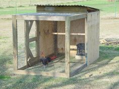 How To Build A  4 x 4 x 8 Brood Pen
