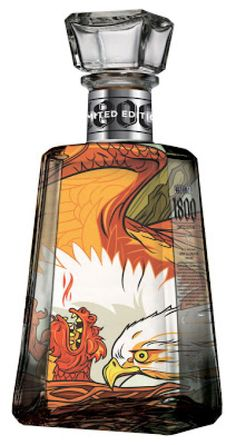 1800 Tequila Bottles; First By Artists... Now By You. - if it's hip, it's here