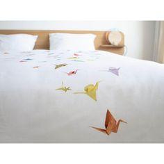 Pościel Snurk Crane Birds 140x200 w Decoarty.pl Bedding, Bed Linens, Linens, Bed, Comforters, Bed Sheets, Full Size Bedding, Beds