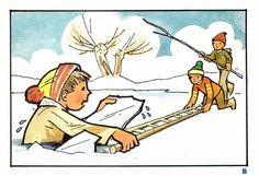 Daily Schedule Preschool, Notebook Doodles, Clip Art, Princess Zelda, Children, Winter, English, Fictional Characters, Winter Time