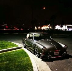 """VW Type 3 Notch back - love the paint color, not a fan of the """"stance""""."""
