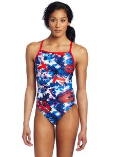 Speedo Women's Team Collection Transit Time Swimsuit « Clothing Impulse
