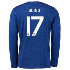 Manchester United 16-17 Daley #Blind 17 Udebanesæt Kort ærmer,208,58KR,shirtshopservice@gmail.com