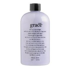 philosophy inner grace 3-in-1 perfumed shampoo, bath & shower gel 16 fl oz (473.1 ml) by Philosophy. $46.00. she has a face of light and is the calm within the depth of any storm. gentle stranger, earth angel without ego or expectation, only dreams and hopes for those she loves, and she loves many... but many more love and adore her. when our hope is lost, it is her smile, her indifference to all fear and chaos that opens each of us to the greatest love of all. her love and leg...