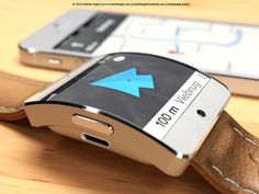 Tis is the new Apple iWatch concept on this company. This iWatch is integrated apple maps to navigate you, and is possible to be connected on your iPhone 5 Apple Maps, Apple Tv, Apple Mac Computer, Tim Cook, Apple Watch Fashion, Lg Oled, Apple Watch Iphone, Iphone Stand, Mac Mini