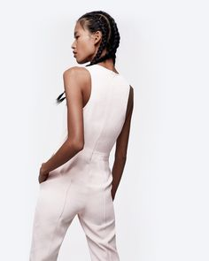 Structured Minimalist Jumpsuit