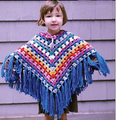 Ravelry: Playtime Poncho pattern by Lion Brand Yarn