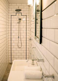 Very Narrow Bath narrow ensuite | bathroom ideas | pinterest | bathroom renos
