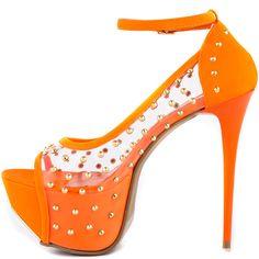 Manvel - Orange Heels