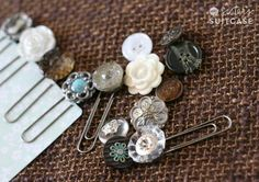 These bookmark ideas practically come together in the blink of an eye, which makes them ideal for when you need a quick project to complete in a pinch. You won't believe how easy these Vintage Button and Paperclip DIY Bookmarks are to make until you've actually created them yourself. In just five minutes, you can have your own bookmark DIY project to give as gifts or keep for your personal library. Whether it's Valentine's Day or Mother's Day, craft ideas like these make ...