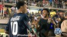awesome Raheem in Jamaica watching high school football