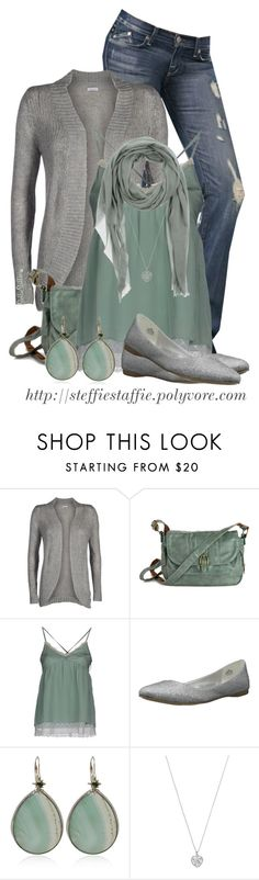 """""""Mint Green & Heather Gray"""" by steffiestaffie ❤ liked on Polyvore featuring ONLY, Atelier Fixdesign, Nine West, Stephen Dweck, Accessorize and ARTE"""