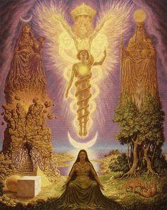 Ativando DNA. Abrindo habilidades clarividentes e clariaudiente. Sentindo-se conectada à Unidade do Universo. Mente se sente expandido na sua busca de maior consciência e conhecimento. Permitindo ego se afastar e conectar-se com maior freqüência de pensamento e consciência. Sentindo o amor incondicional, paz e conexão com o espírito.