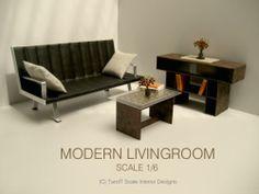 Modern Living room for my dolls