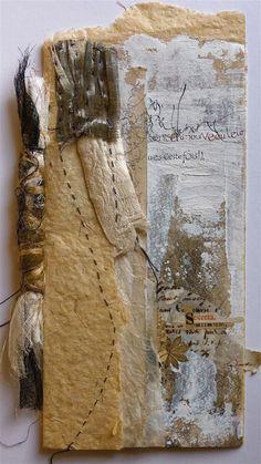 Stéphanie Devaux -  Livre unique, collage, peinture et calligraphie,  Blog = Textus: Les lignes