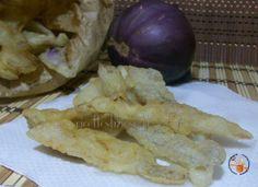 Bucce di melanzane in pastella - ricettesfiziosedirosaria