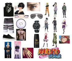 """Hioshi Hyuga Shippuden: Trouble at the Beach"" by sasukeuchiha87 ❤ liked on Polyvore featuring O'Neill, Lacoste, Metal Mulisha, Yves Saint Laurent, Axe, men's fashion and menswear"