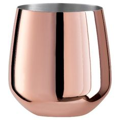 Shop for these cute copper wine glasses on Keep!