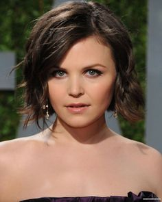 Ginnifer-Goodwin - love this hairstyle