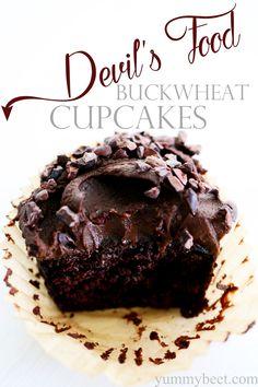 Devil's Food Buckwheat Cakes (gluten-free)