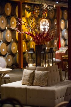 Corporate Showcase 2013 - Host your next corporate event or private dinner at V. Sattui Winery! (Furnishings from Blueprint Studios)