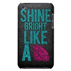 Shine Bright iPod Case-Mate Cases