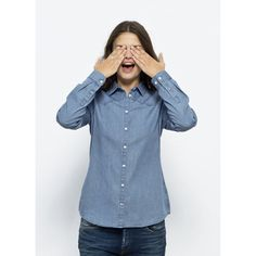 Alex is the result of fresh thinking mixed with some old school style. Eco-friendly dyeing techniques, and an item that's timeless wherever you to take it Ethical Clothing, Light Denim, Work Shirts, School Fashion, Denim Shirt, Organic Cotton, Indigo, Lady, Clothes