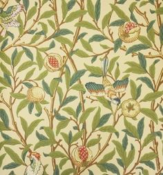 William Morris Bird and Pomegranate 212539 Wallpaper