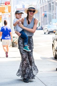 Josh Goot tank top, Isabel Marant skirt and boots