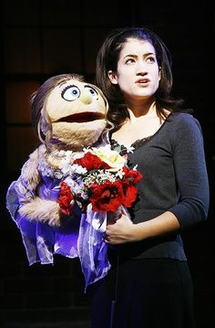Avenue Q - Off-bway show photos - Sarah Stiles Theatre Shows, Musical Theatre, Broadway Tickets, Q Photo, I Have A Boyfriend, Masterpiece Theater, Puppet Show, Romantic Things, Hand Puppets