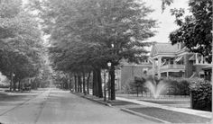 Ontario Street in St. Catharines (image/jpeg), a block and a half from our house DM St Catharines, Prussia, Old Photos, Ontario, Beautiful Places, Country Roads, Black And White, Street, Photography