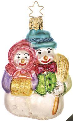 Inge Glas 2006#Christbaumschmuck#aus dem Hause Inge Glas.Weihnachtsbaumschmuck made in Germany mundgeblasen und von Hand bemalt bei www.gartenschaetz..