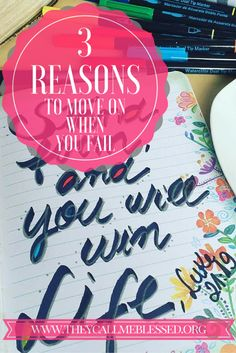 3 Reasons To Move On